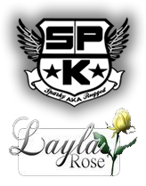 Sparky and Layla Rose Logo